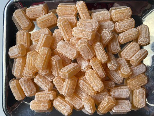 Orange Ingwer Bonbons